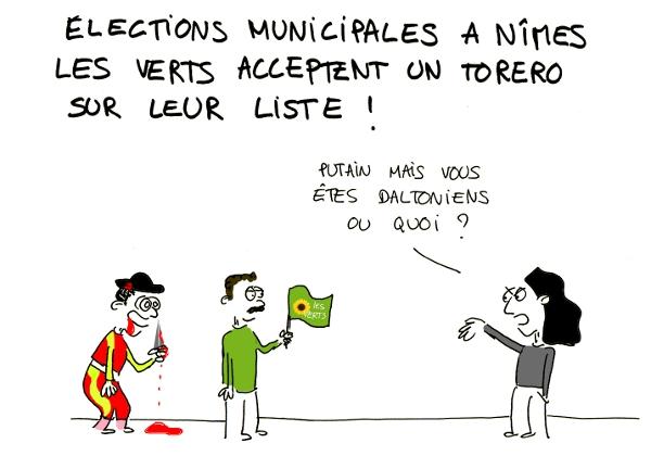 EELV torero elections
