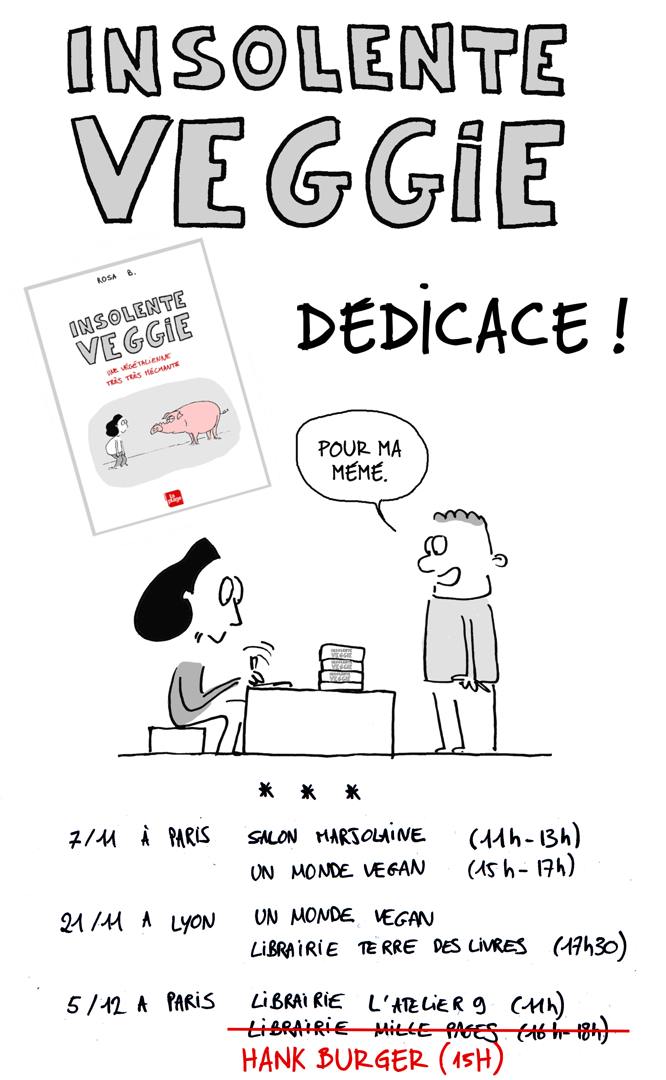 dédicace dates blog